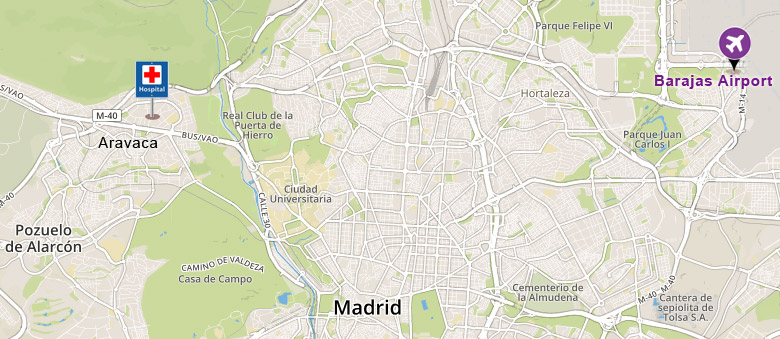 how to find us - map I