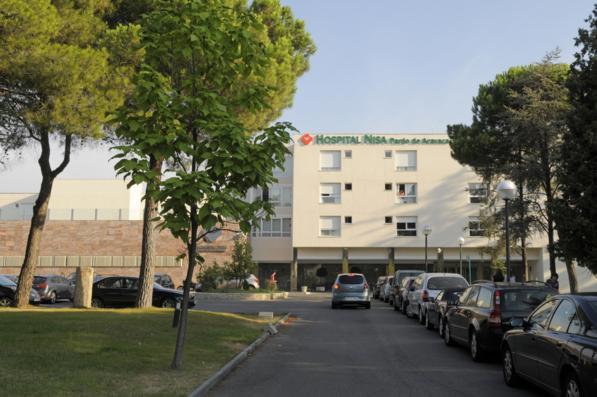 Hospital Nisa - entrance